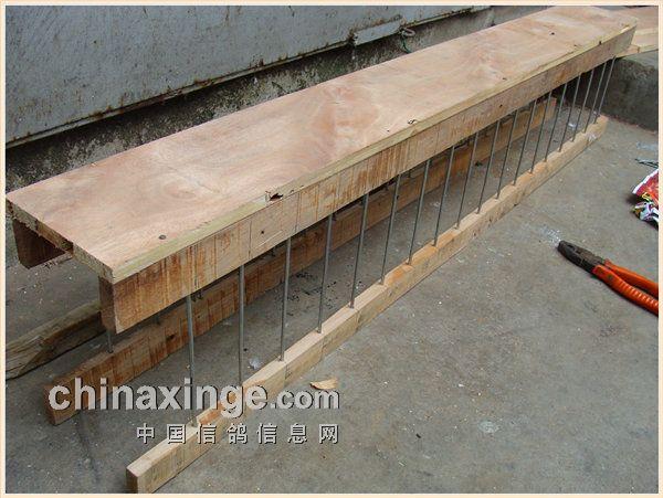 用废弃木板自制食槽(图)-中国信鸽信息网