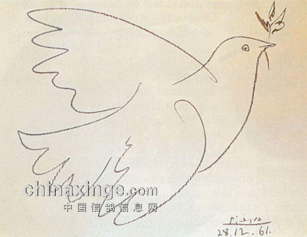 和平的未来海报简笔画