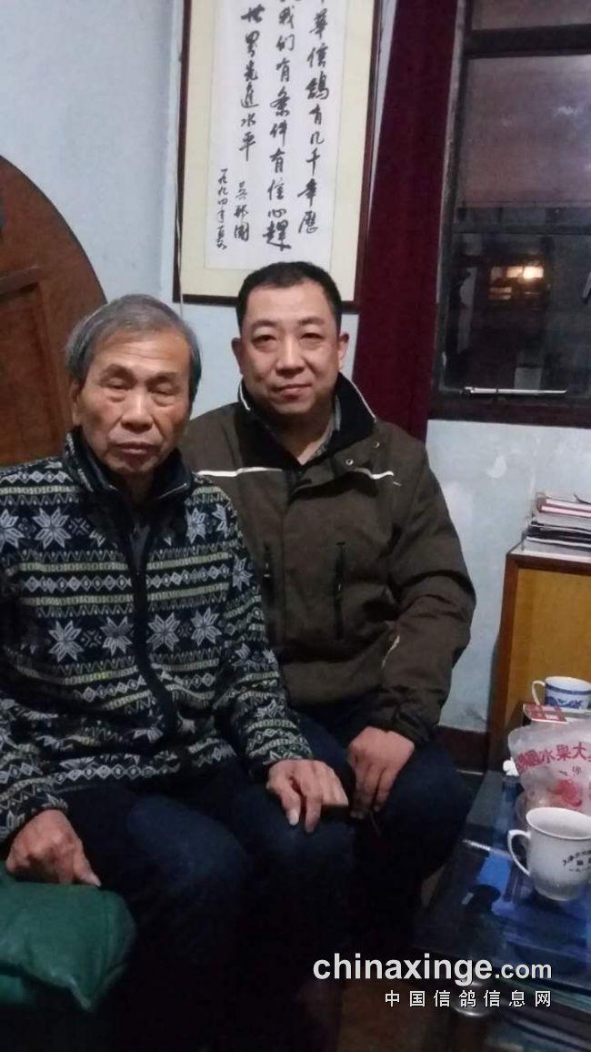 笔者和张顺奎先生合影