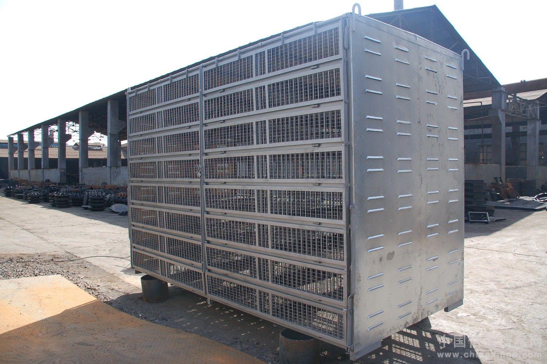 鸽子笼设计图-好消息 钢结构出口专业厂开始订做集装箱式放鸽笼 吉信图片