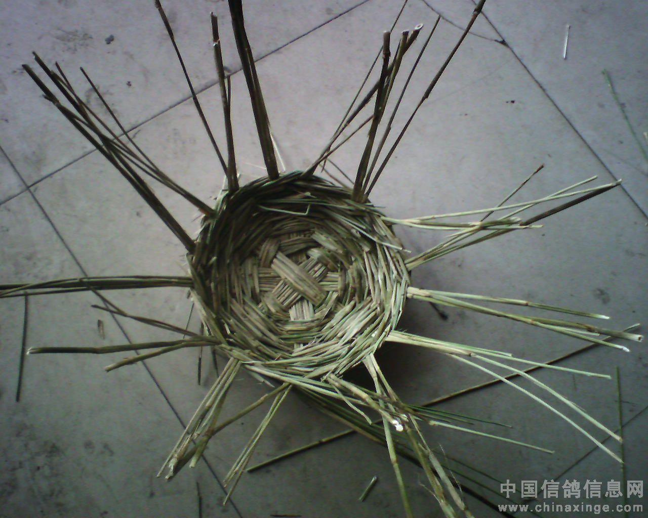 巢盆的制作过程