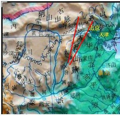 中间有太原武宿民用飞机场