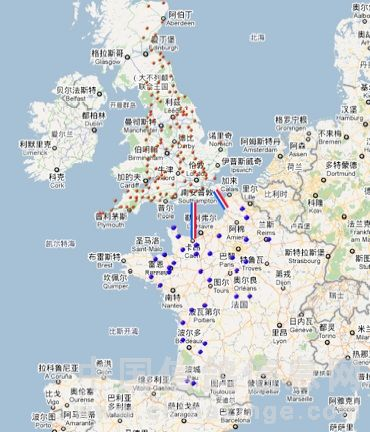 英国是大西洋中的群岛国家,主岛大不列颠岛约南北长900公里,东西最宽处为520公里,面积22.99万平方公里(略大于朝鲜半岛),人口约6千万。西北有较高山脉,地势自西北向东南倾斜,东南主要以丘陵为主,所以很多地名也是以Hill(山丘)和Valley(山谷)命名。   英国位于北纬50度至60度之间,比我国的黑龙江省还要偏北,但气候却温和得多,为典型的温带海洋性气候。中部地区一月气温基本在0摄氏度以上,但近年来冬季气温明显变低,但相对中国冬季气温英国还是比较温暖的;英国夏天则相对凉爽,早晚温差大,早晚外出